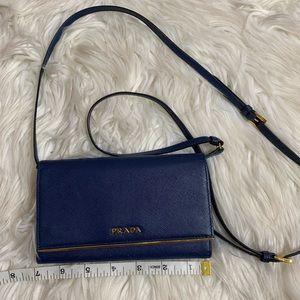 Prada sling wallet
